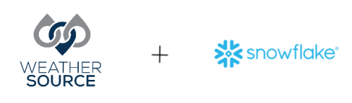 Weather Source is a strategic partner with Snowflake
